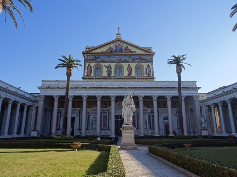 Rome San Paolo Fuori Le Mura Corvinus